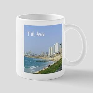 Tel Aviv Beach Mugs