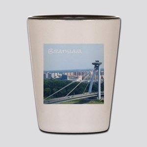 Bratislava Bridge Shot Glass