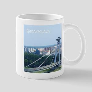 Bratislava Bridge Mugs