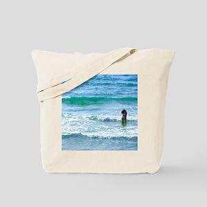 Lovers at Sea Tote Bag