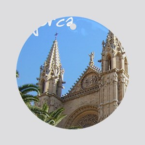 Majorca Church Ornament (Round)