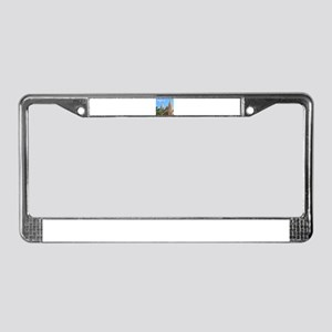 Majorca Church License Plate Frame