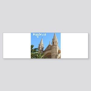 Majorca Church Bumper Sticker