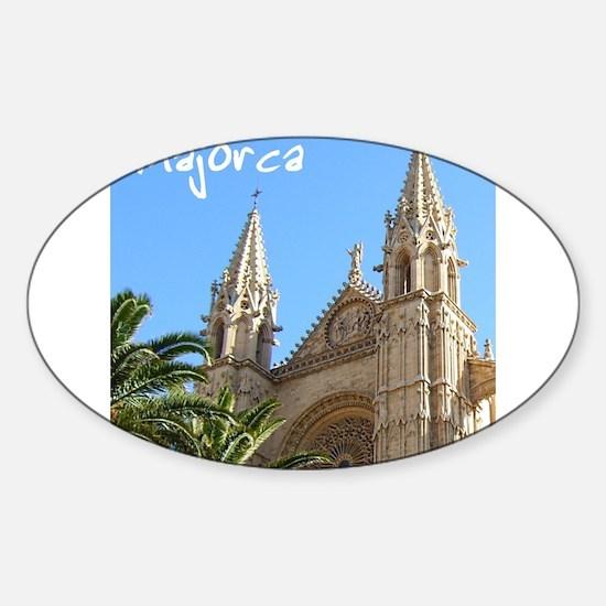 Majorca Church Decal