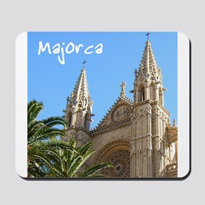Majorca Church Mousepad