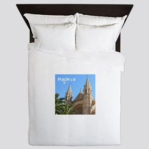 Majorca Church Queen Duvet