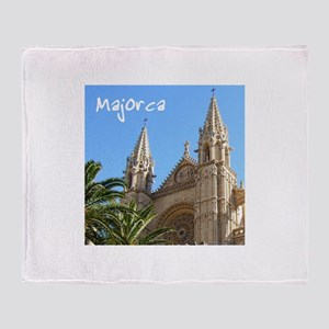 Majorca Church Throw Blanket