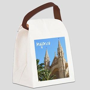 Majorca Church Canvas Lunch Bag