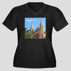 Majorca Church Plus Size T-Shirt