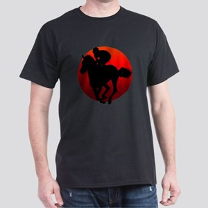 horse racing Dark T-Shirt