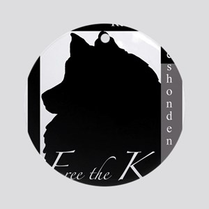 Free the Kees - Contemporary Look Ornament (Round)