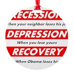 recession Ornament