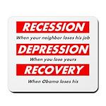 recession Mousepad