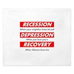 recession King Duvet