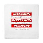 recession Queen Duvet