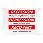 recession Pillow Case