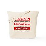recession Tote Bag