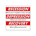 recession Sticker