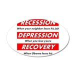 recession Wall Decal