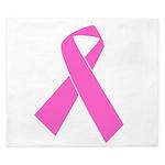 pink-ribbon King Duvet