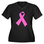 pink-ribbon Plus Size T-Shirt