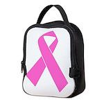 pink-ribbon Neoprene Lunch Bag