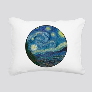 Starry Night Rectangular Canvas Pillow