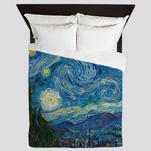 Starry Night Queen Duvet