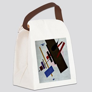Suprematism, artwork by Kazimir M Canvas Lunch Bag