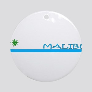Malibu, California Ornament (Round)