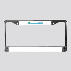 Malibu, California License Plate Frame