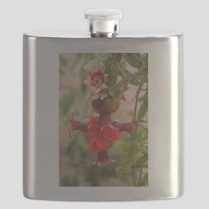 Pomegranate Cross Flask