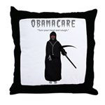 Turn your head and cough Throw Pillow