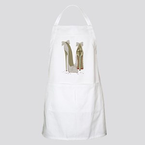 Wedding High Heel Stilettos Art Apron