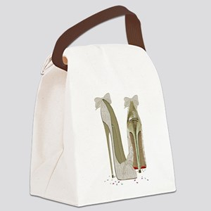 Wedding High Heel Stilettos Art Canvas Lunch Bag