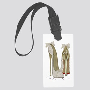 Wedding High Heel Stilettos Art Luggage Tag