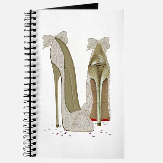 Wedding High Heel Stilettos Art Journal