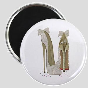 Wedding High Heel Stilettos Art Magnets