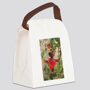 Pomegranate Cross Canvas Lunch Bag