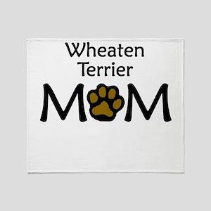 Wheaten Terrier Mom Throw Blanket