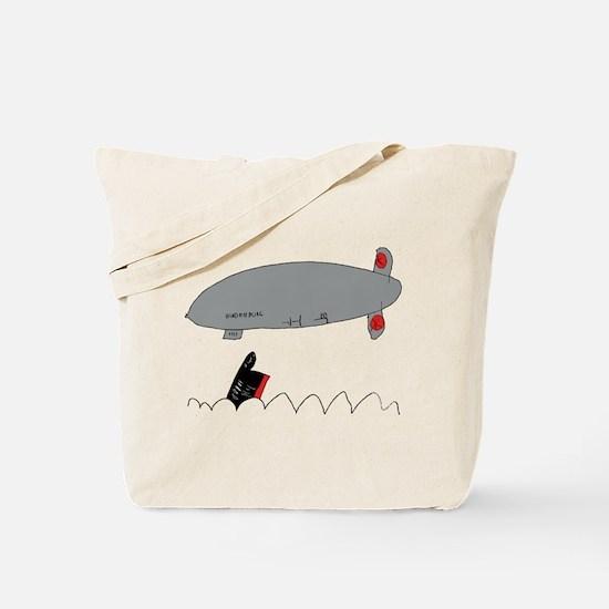 Titanic/Hindenburg Tote Bag