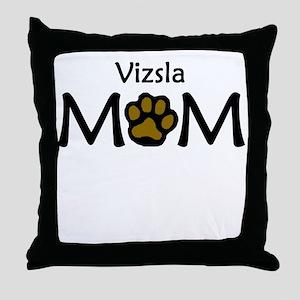 Vizsla Mom Throw Pillow