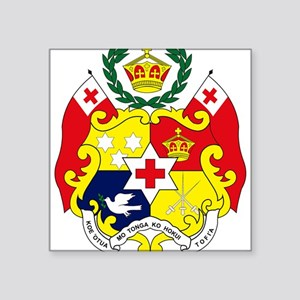 Tonga Coat of Arms Rectangle Sticker