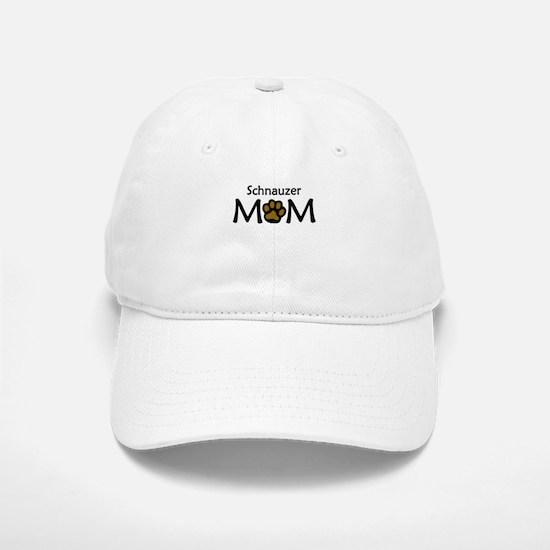 Schnauzer Mom Baseball Baseball Baseball Cap