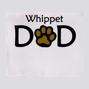 Whippet Dad Throw Blanket
