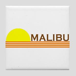 Malibu, California Tile Coaster
