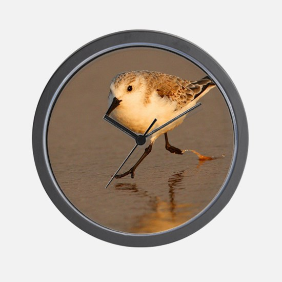 Sand Piper Wall Clock