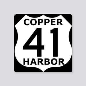 Copper Harbor 41 Sticker
