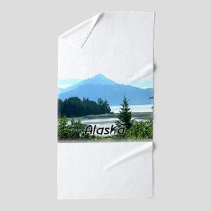 Alaska Scenic View Beach Towel
