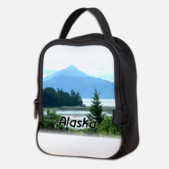 Alaska Scenic View Neoprene Lunch Bag